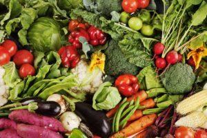 Grönsaker, tomat, sallad, Sydafrika