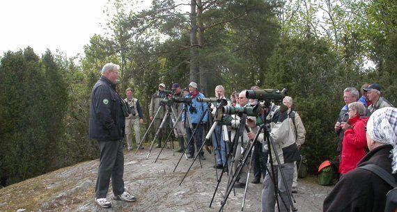 Jens Wahlstedt, fågelskådningens dag, maj 2007