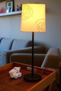 Lampa med energilampor, Belgien