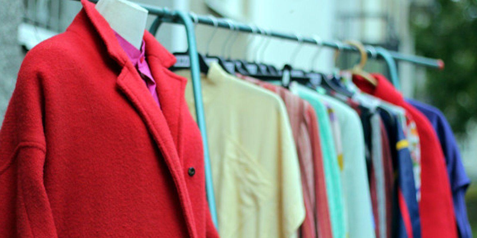 Begagnade kläder / Amano Stockholm Foto: Elin Dunås