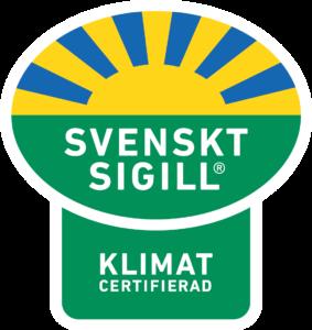 Svenskt Sigill Klimat Certifierad