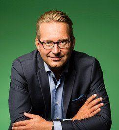 Niklas Gustavsson, hållbarhetschef för Volvo Group