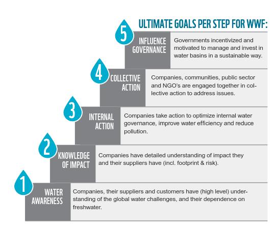 Water Stewardship steps
