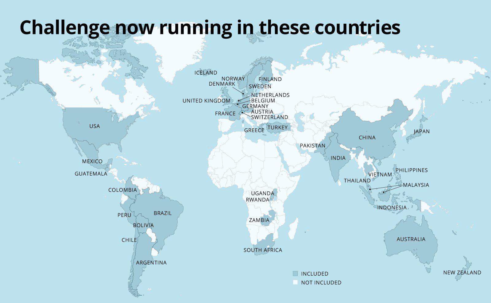 OPCC – inbjudna länder