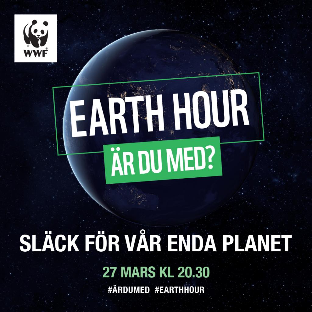 Earth Hour kampanj 2021