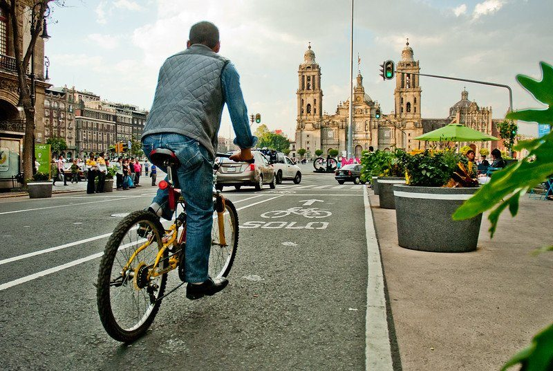 Mexico City expanding cycling infrastructure